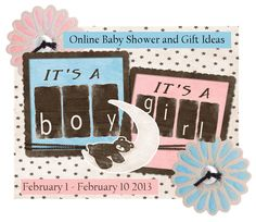 Its a Boy and Its a Girl Online Baby Shower and Gift Ideas! @Amanda Coghlan