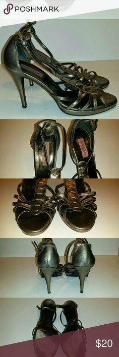 Via Spiga Strappy Heels Used condition  Great timeless style Via Spiga Shoes Sandals