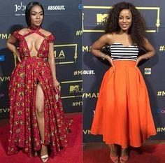 Nomzamo Mbatha & Jessica Nkosi