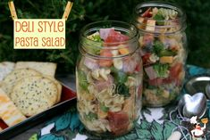 Deli Style Pasta Salad from Pocket Change Gourmet