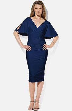 Lauren Ralph Lauren 'Raven' Matte Jersey Dress (Petite) available at #Nordstrom