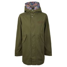 8bd52721f74 Cotton Zip Up Hooded Parka