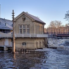 Ahlstrom ruukki - Dawn of the Finnish lumber industry in Noormarkku, near Pori, in Finland by Ahlstrom family. from 1800s going strong.