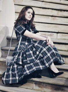 Kleid retro style