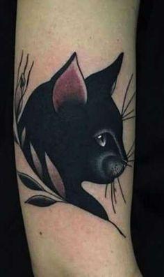 Tatuajes de gatos: Fotos de algunos diseños - Tatuajes de gatos: Perfil