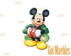 Lámpara Decorativa de Pared Funny Light Mickey Mouse  www.gotmuebles.mx