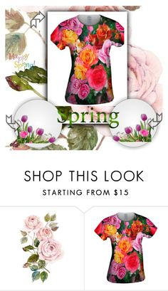 """""""Happy Spring"""" by merryyyyy-132 ❤ liked on Polyvore"""