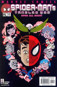 Cover for Spider-Man's Tangled Web (Marvel, 2001 series) #11