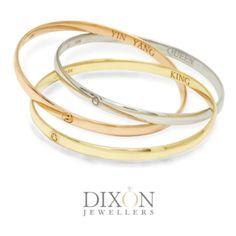 Other Custom Designs Portfolio l Dixon Jewellers Bangle Bracelets, Bangles, Yin Yang, King Queen, Portfolio Design, Custom Jewelry, Custom Design, Brooch, Jewels