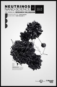 Neutrinos - Nano Science poster - Kole Kostelic @Kate Taylor