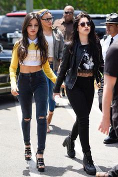 Lauren and Camila Cabello