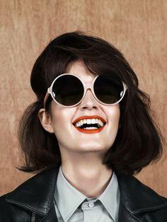 Gafas de sol redondas - Round sunglasses - Rocker style - Gafas de sol - Sunglasses - Sunnies - Shades