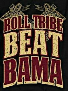 Take notice Seminole nation is on the war path GO NOLES!!!