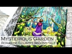Overlooking The Town | Adult Coloring Book: The Night Voyage by Daira Song - YouTube