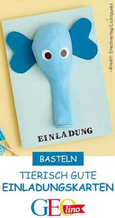 Kindergeburtstag feiern So that the anticipation of a party begins with the invitation, you will find ideas for great invitation cards here! Diy Birthday Invitations, Mermaid Invitations, Birthday Cards, Birthday Gifts, Cards For Men, Cumpleaños Diy, Diy Gifts For Dad, Itunes Gift Cards, Invitation Cards