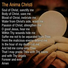 The Most Holy Eucharist