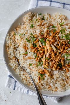 This Lebanese Rice is a staple Middle Eastern (Arabic) side dish in my home that I make with only three ingredients: rice, vermicelli noodles and olive oil! Arabic Rice Recipe, Lebanese Rice Recipe, Lebanese Recipes, Lebanese Cuisine, Rice Recipes, Veggie Recipes, Beef Recipes, Healthy Recipes, Dishes Recipes