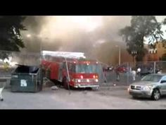 How NOT To #Drive A Fire Truck #FAIL