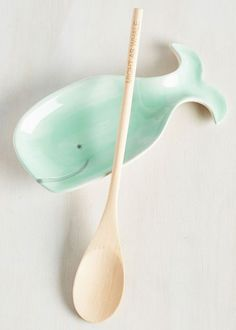 Whale-Balanced Meal Spoon Rest Set