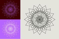 Affinity Designer, Mandala Design, All Design, Vector Free, Tapestry, Hanging Tapestry, Tapestries, Needlepoint, Wallpaper