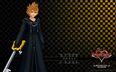 Organization XIII Members   ... :Kingdom Hearts 358-2 Days (Organization 13 - Member XIII Roxas).png