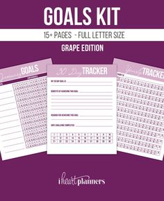 Goals planner goal setting new years resolutions 9 printable news years sale all printables and planner inserts in the shop are 40 off to help you get ready for the new year this is an 18 page set of spiritdancerdesigns