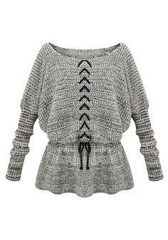 Grey Tunic Sweater