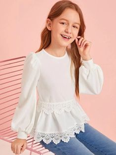Kids Outfits Girls, Cute Girl Outfits, Little Girl Dresses, Girls Dresses, Kid Outfits, Girls Fashion Clothes, Tween Fashion, Little Girl Fashion, Fashion Outfits