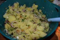 ΜΑΓΕΙΡΙΚΗ ΚΑΙ ΣΥΝΤΑΓΕΣ: Πατατοσαλάτα η απίθανη !!! Potato Salad, Mashed Potatoes, Food And Drink, Ethnic Recipes, Whipped Potatoes, Smash Potatoes