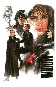 Black Widow by Alex Ross