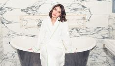 10466e0e685a Iris Law Gets Ready For Burberry s February 2017 Show - Coveteur How To  Look Better
