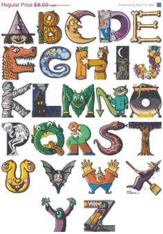 Alphabet Cross Stitch Pattern Pdf halloween Cross Stitch ha… – Graffiti World Graffiti Art, Graffiti Alphabet, Alphabet Art, Alphabet And Numbers, Letter Art, Letter Fonts, Alphabet Letters Design, Spanish Alphabet, Preschool Alphabet