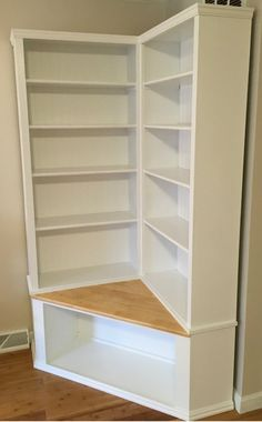 * PLEASE NOTE, THESE ARE ONLY AVAILABLE FOR LOCAL PICK UP IN WARWICK RI. DELIVERY IS AVAILABLE WITHIN A 150 MILES. These wonderful shabby chic corner bookcases with seat can be made in any color and dimensions. Please contact us with your specifications so we can create a quote