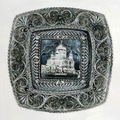 Русский филигрань Искусство - это искусство Тысячелетия