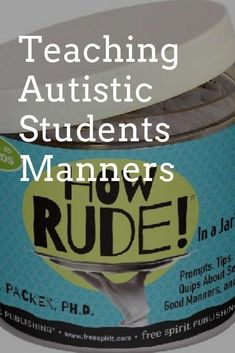 Autistic students sometimes have trouble with manners. They are not fully aware are do not fully understand social cues. This can make them come off as incredibly rude. I know with the autistic students I have I am not only teaching them academic lessons but I am trying also to point out when they do things that others would consider rude and try to help those behaviors. This game is helpful for helping autistic students understand what may be considered rude or crossing a line. #ad #manners Speech Therapy Autism, Speech Therapy Activities, Life Skills Activities, Language Activities, 2nd Grade Classroom, Autism Classroom, Summer Science, Science Fun, Social Skills For Kids