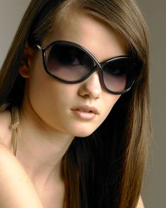 Tom Ford sunglasses. If only they looked this hot on me.