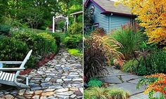 When it comes to garden paths, the possibilities are endless. Here are 12 examples to help you get inspired.