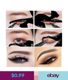Eyeliner Stencil Models Template Shaper Tools Cat Eye Line Makeup Beauty Tools #ebay #Fashion