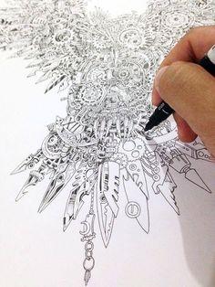 Sketch by Kerby Rosanes #SketchyStories: