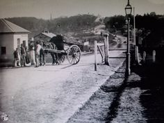 Toll Gates, New South Head Road, Rushcutters Bay.  1870 - 1875, National Library of Australia