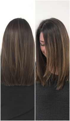 The perfect fall haircut and color for medium length brown hair. So happy with it. Brown Hair Medium Length, Haircuts For Medium Length Hair Straight, Medium Length Hair Cuts Straight, Hair Cut Styles Medium, Medium Haircuts, Long Hair Styles Straight, Long Layers Medium Hair, Haircuts 2017 Medium Lengths, Thin Long Hair Cuts