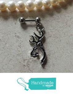 Browning Deer Head Black 16ga Cartilage Earring Body Jewelry Earring from Body Dazzles http://www.amazon.com/dp/B01CUMIOFS/ref=hnd_sw_r_pi_awdo_VO8kxb0BVRMH7 #handmadeatamazon