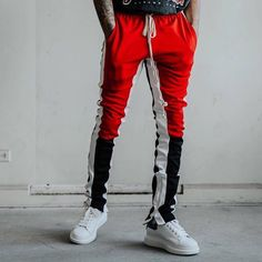 Follow @hoodstore now for the best track pants and more!  Order at : www.hoodstore.com
