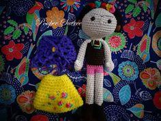 Frida Amigurumi Patron : Frida kahlo amigurumi pattern amigurumi crochet and crochet dolls