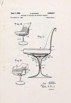 Eero Saarinen, Chaise Tulipe