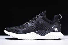 buy popular 7f3e6 f48f8 2018 New Mens adidas AlphaBounce Beyond Black White B42381 Adidas Men, Black  And White,