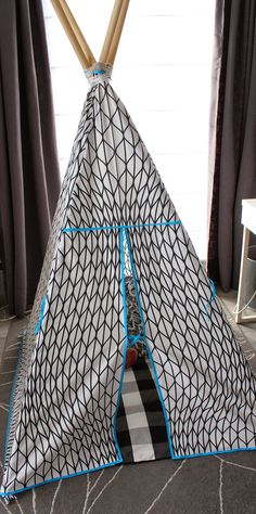 Lily en Woody: Tipi review