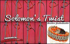 """Der Knoten """"Solomon's Twist"""" ist von Justin Lassiter. Es handelt sich hierbei um eine Modifikation des normalen Solomon Knotens welcher auch unter Kobra/Cobra bekannt sein dürfte."""
