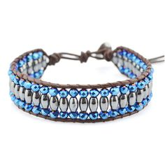 Moonlit Single Wrap Bracelet