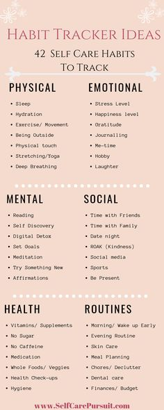 Habit Tracker Ideen für Self Care - Journaling - . Habit Tracker Ideen für Self Care - Journaling - . - Practice Self Love with this Self Care Cheat Sheet! 15 Ways to Practice Self Love // Infographic Self Love Ideas, Self Care Tips Self Motivacional Quotes, Care Quotes, Self Care Bullet Journal, Vie Motivation, Mental Training, Self Care Activities, Good Habits, Healthy Habits, Healthy Treats